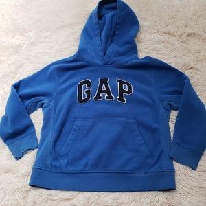 💕3/$10💕Gap blue fleece hoodie medium 7/8